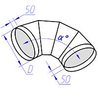 отвод круглого сечения